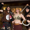 Joxer, Gabrielle, and Xena