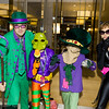 Riddler, Killer Moth, Scarecrow, and Catwoman