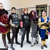 Cullen Rutherford, Cassandra Pentaghast, Commander Shepard, Leliana, and Josephine Montilyet