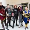 Cullen Rutherford, Cassandra Pentaghast, Commander Shepard, Leliana, and Josephine Montilyet