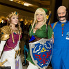 Princess Zelda, Link, and Talon