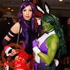 Psylocke and She-Hulk