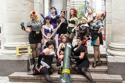 DC Bombshell Shoot I-2016