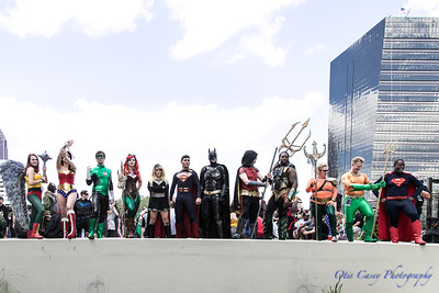 Giant DC Universe Shoot 2017