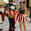 Captain America and USO Girl