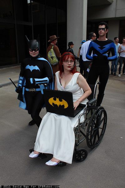 Batgirl, Oracle, and Nightwing