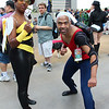 Bumblebee and Aqualad