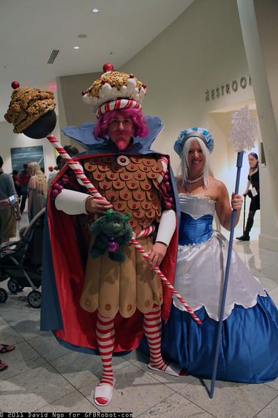 King Kandy and Queen Frostine