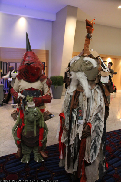 Goblin Knight and Wiseman