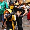 Scorpion and Sonya Blade