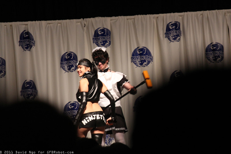Ninjette and Maid Man