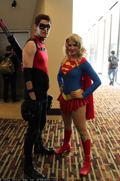 Arsenal and Supergirl