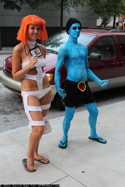 Leeloo and Iceman