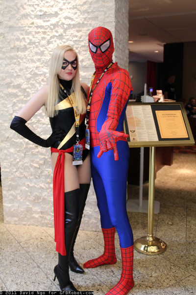 Ms. Marvel and Spider-Man