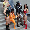Hawkgirl, Black Canary, Vixen, Zatanna, and Wonder Woman