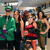 Riddler, Catwoman, Harley Quinn, Poison Ivy, and Two-Face