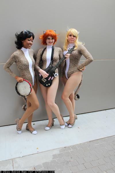 Valerie Brown, Josie McCoy, and Melody Valentine