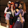 Dr. Girlfriend, Molotov Cocktease, Triana Orpheus, and Tatyana