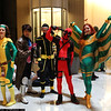 Rogue, Gambit, Cyclops, Deadpool, and Siryn
