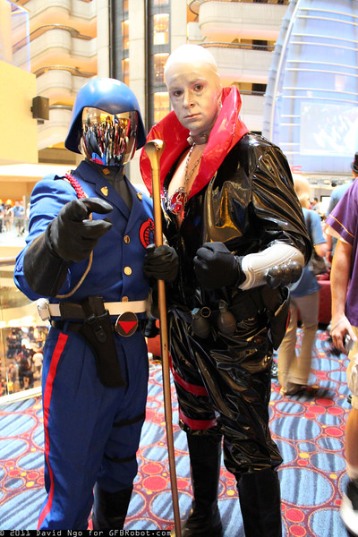 Cobra Commander and Destro