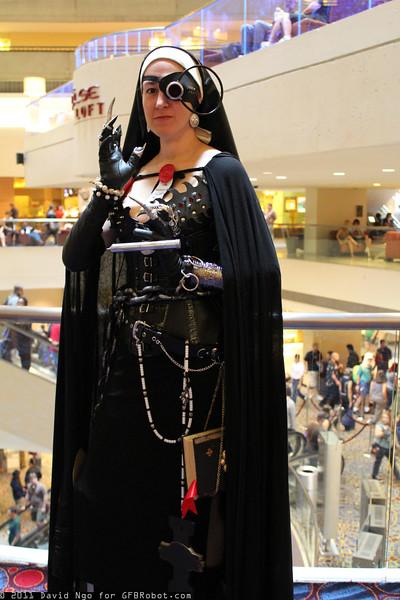 Steampunk Nun
