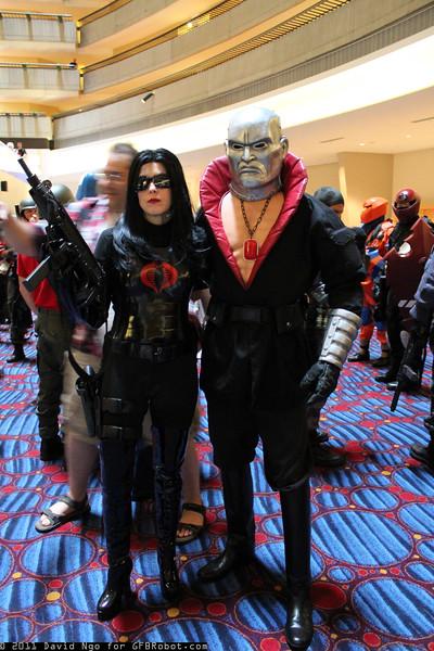 Baroness and Destro