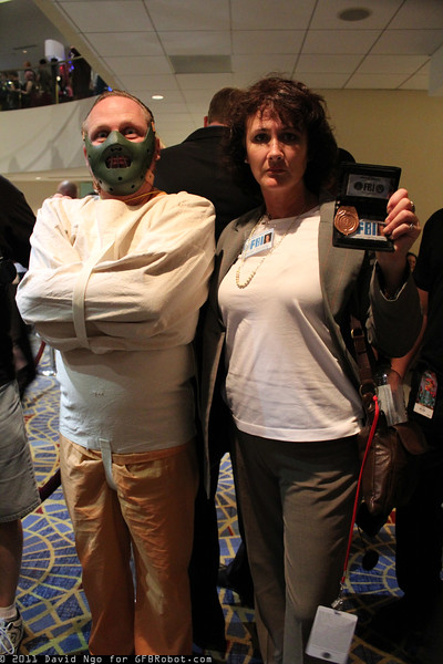 Hannibal Lecter and Clarice Starling