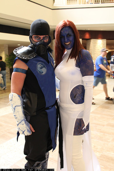 Sub-Zero and Mystique