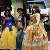 Snow White, Princess Jasmine, and Belle