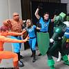 Human Torch, Thing, Invisible Woman, Mr. Fantastic, Super-Adaptoid, and She-Hulk