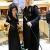 Bellatrix Lestrange and Lucius Malfoy