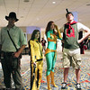 Indiana Jones, Bride, Phoenix, and Quailman