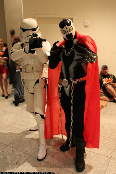 Stormtrooper and Spawn