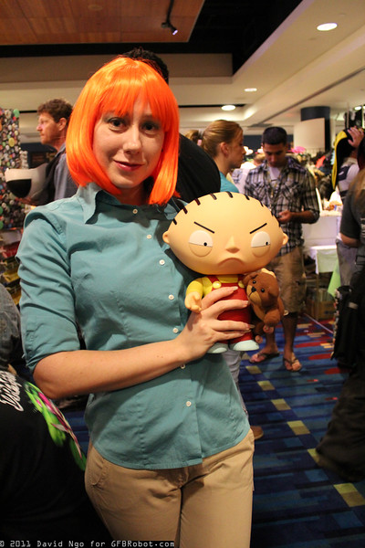 Lois Griffin and Stewie Griffin