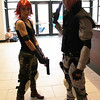 Meryl Silverburgh and Solid Snake