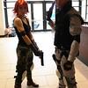 Meryl Silverburgh and Solid Snake