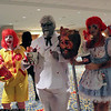 Ronald McDonald, Colonel Sanders, King, and Wendy