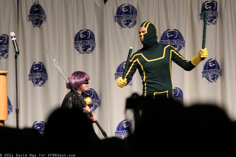 Hit-Girl and Kick-Ass