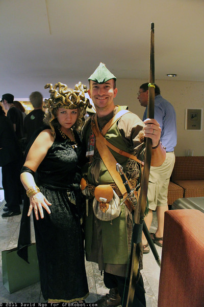 Medusa and Robin Hood
