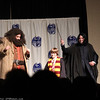 Rubeus Hagrid, Harry Potter, and Severus Snape