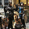 Catwoman and Domino