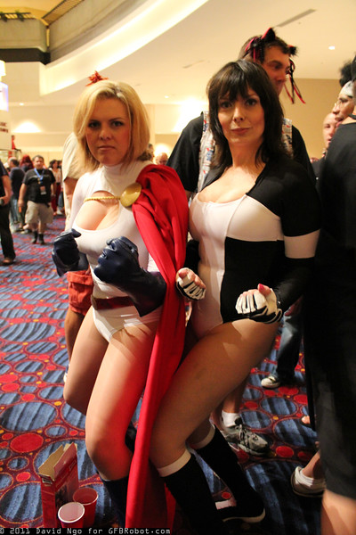 Power Girl and Terra
