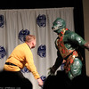 Captain James T. Kirk and Gorn