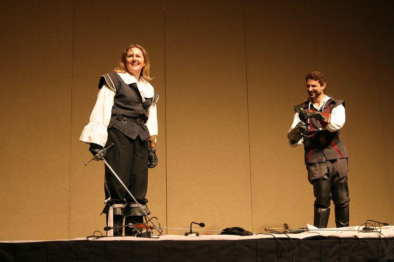 The Crossed Swords; Nicole Harsch & Mike Sakuta
