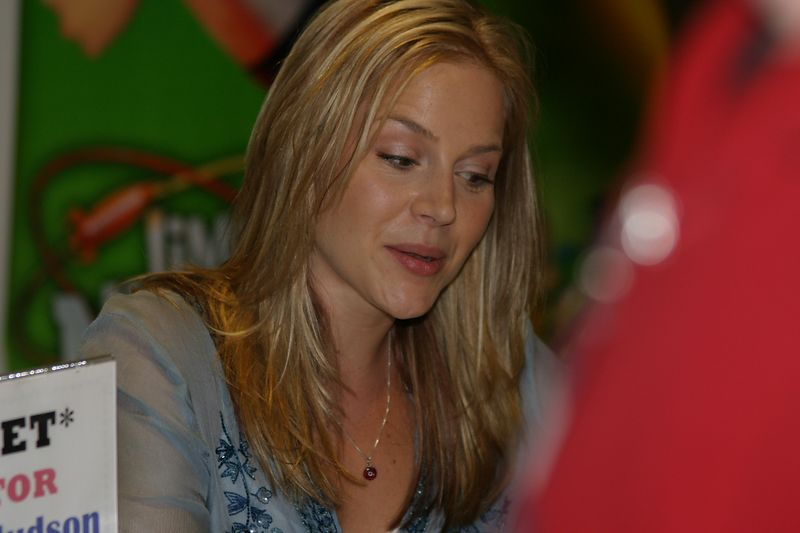 Julie Benz; Darla on both Buffy the Vampire Slayer and Angel