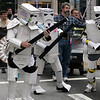Star Wars characters in the DragonCon Parade