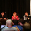 Grant Imahara, Kari Byron, and  Tory Bellici are members of the Mythbuster build team