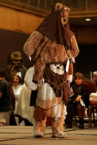 the Star Wars Costume Contest at DragonCon