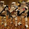 Cardboard Troopers Hallway costumes