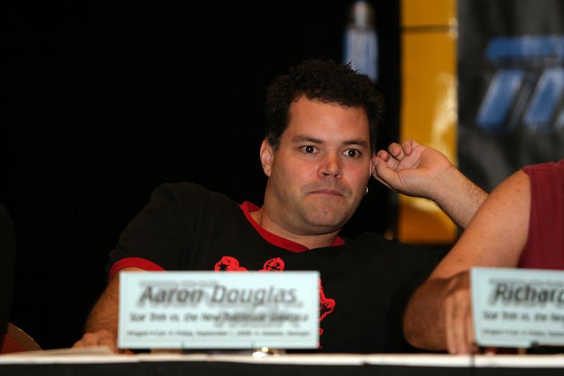 Aaron Douglas, Chief Petty Officer Galen Tyrol on Battlestar Galactica
